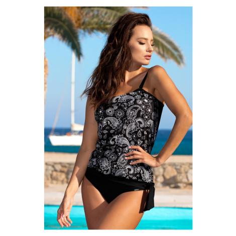 Górna część damskiego kostiumu kąpielowego tankini Cristine Black Madora