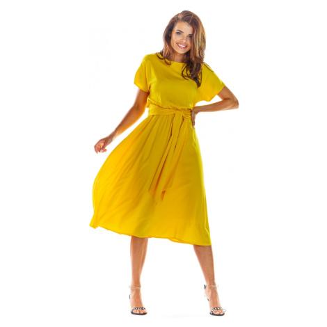 Women's dress Awama A296