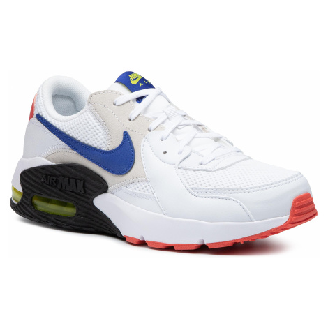 Buty NIKE - Air Max Excee CD4165 101 White/Hyper Blue/Bright Cactus