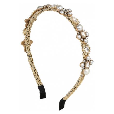 We Are Flowergirls Biżuteria do włosów 'Golden Pearls' biały / złoty