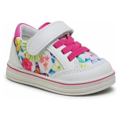 Sneakersy PRIMIGI - 737142 M Bianco
