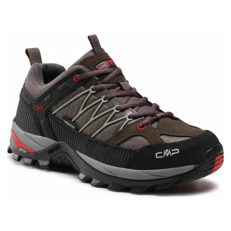 Trekkingi CMP - Rigel Low Trekking Shoe Wp 3Q54457 Wood/Arena 06PE