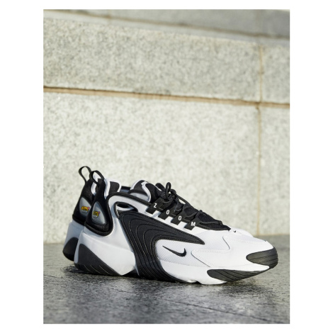 Nike Zoom 2K trainers in black and white