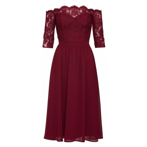 Chi Chi London Sukienka koktajlowa 'ANNA-MARIE' bordowy