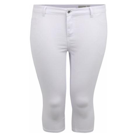 Vero Moda Curve Jeansy 'HOT SEVEN' biały