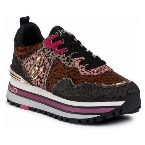 Sneakersy LIU JO - Wonder Maxi 01 BF0069 PX072 Pink/Sand S1629