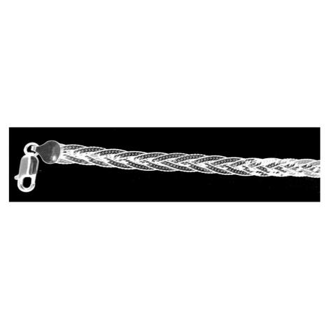 Łańcuszek srebrny 14872