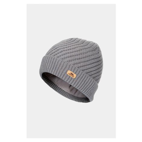 Szara damska czapka Twisted