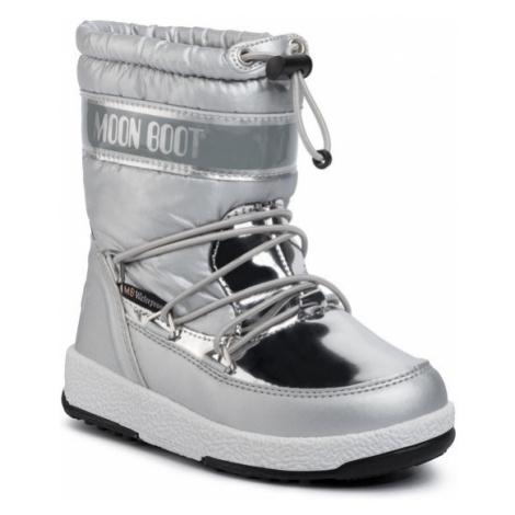 Moon Boot Śniegowce Girl Soft Wp 34051700003 Srebrny