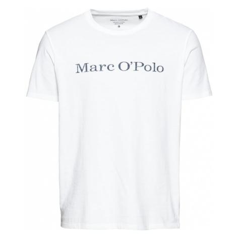 Marc O'Polo Koszulka biały / ciemnoszary