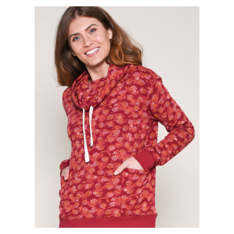 Czerwona wzorzysta bluza Brakeburn