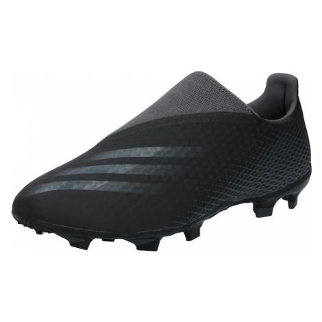 ADIDAS PERFORMANCE Buty piłkarskie 'X Ghosted.3' szary / czarny