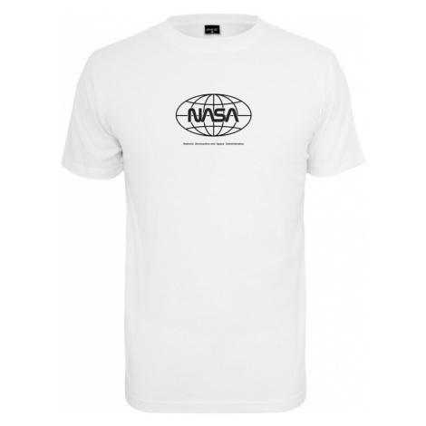 Mister Tee Koszulka 'NASA Globe' biały / czarny