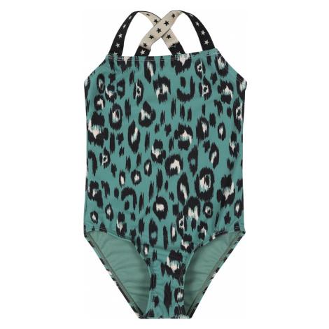 Shiwi Strój kąpielowy 'luxe leopard' zielony