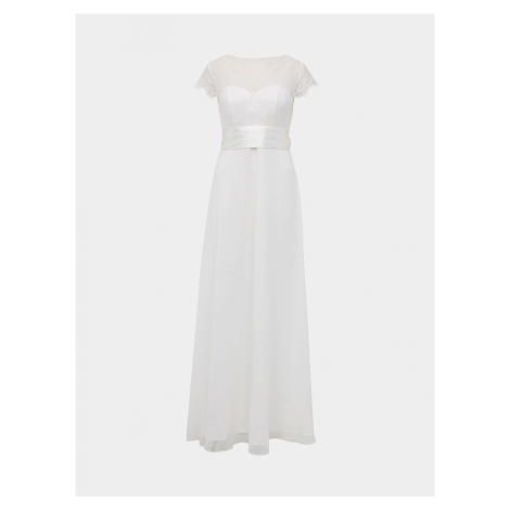 Biała sukienka maxi Dorothy Perkins