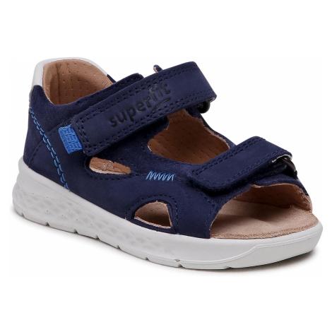 Sandały SUPERFIT - 1-000510-8000 M Blau/Blau