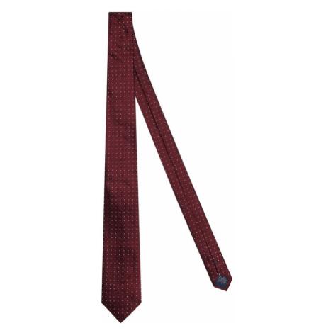 Tommy Hilfiger Tailored Krawat TT0TT08347 Bordowy