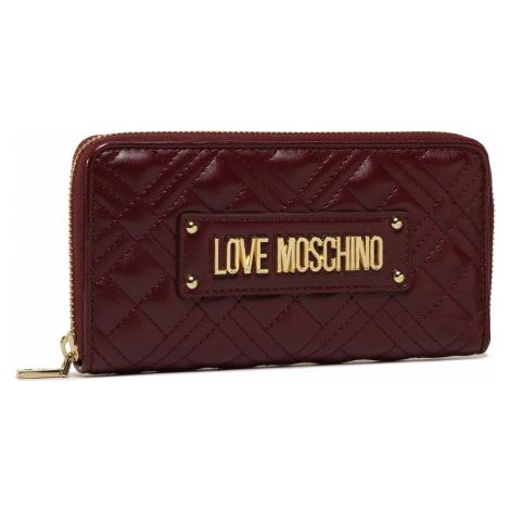 Duży Portfel Damski LOVE MOSCHINO - JC5630PP0BKA0552 Vino