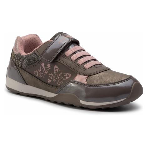 Sneakersy GEOX - J N.Jocker G. A J94G2A 0HHPV C1XA5 D Smoke Grey/Skin