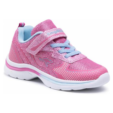 Sneakersy KANGAROOS - Kanga Glozzy Ev 18704 000 6242 Navy/Fandango Pink