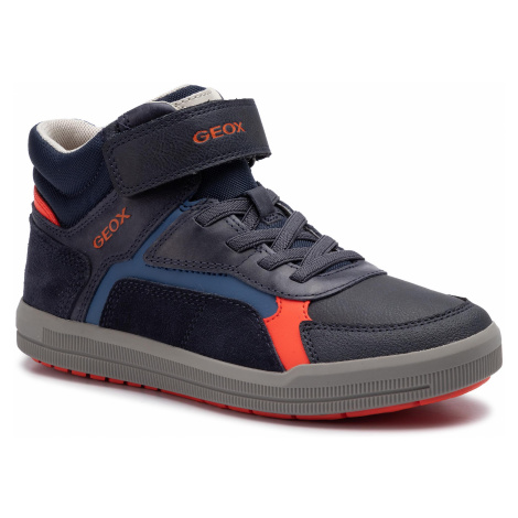 Sneakersy GEOX - J Arzach B. A J944AA 0BCCL C4218 D Navy/Dk Orange