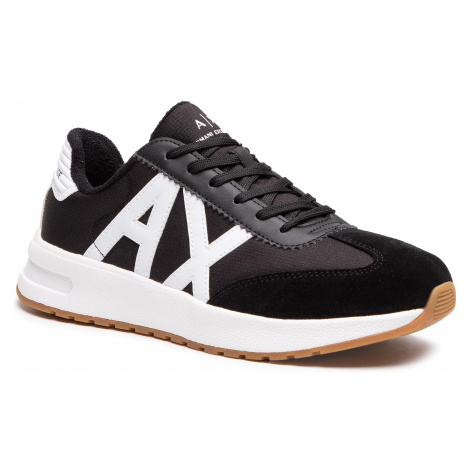 Sneakersy ARMANI EXCHANGE - XUX071 XV277 N642 Black/Opt.White