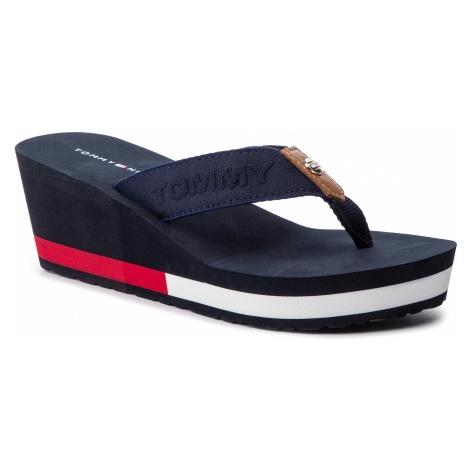 Japonki TOMMY HILFIGER - Flag Wedge Beach Sandal FW0FW03863 Rwb 020