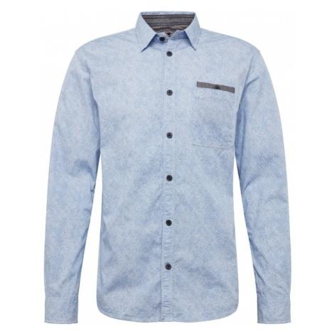 TOM TAILOR Koszula niebieski / podpalany niebieski / szary