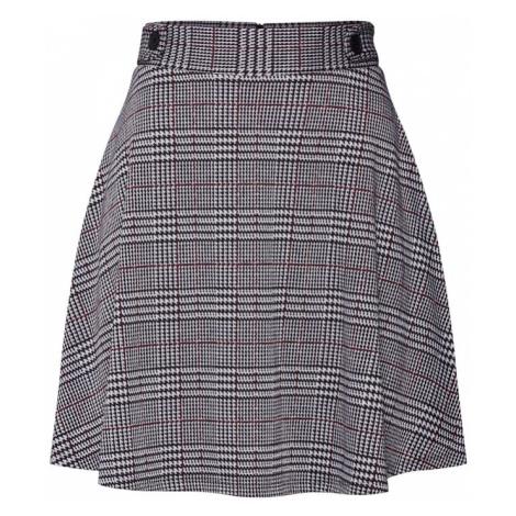 ESPRIT Spódnica bordowy / czarny / biały