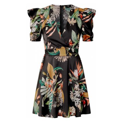 AX Paris Sukienka czarny / mieszane kolory