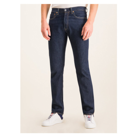 Levi's® Jeansy Regular Fit 501® Original 00501-0101 Granatowy Regular Fit Levi´s