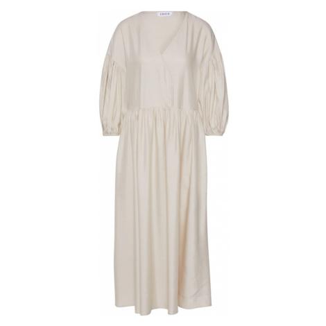 EDITED Letnia sukienka 'Lamya' offwhite / biały