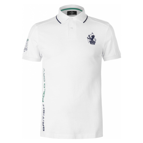 Hackett Pique Polo Shirt Mens