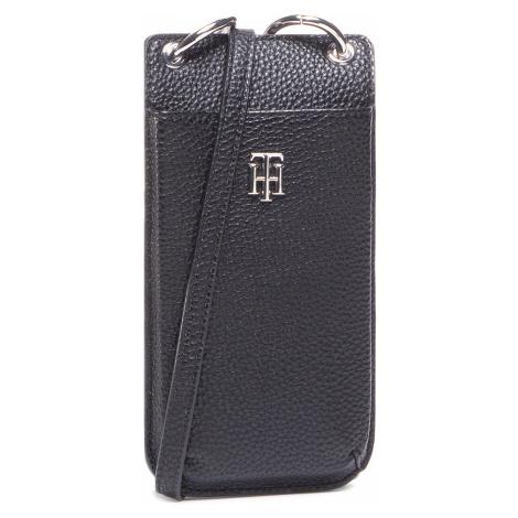 Etui na telefon TOMMY HILFIGER - Th Essence Phone Wallet AW0AW08907 BLK