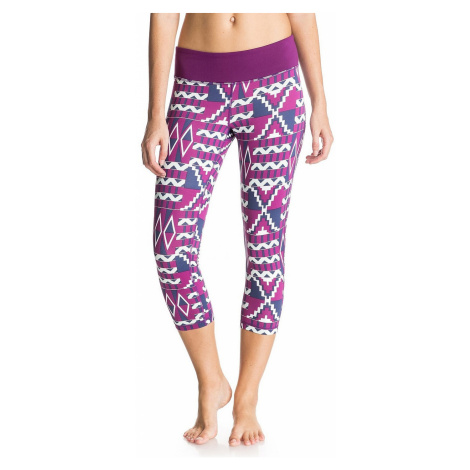 spodenki Roxy Own It Capri - BSQ6/Aztec Geo Sailor Blue