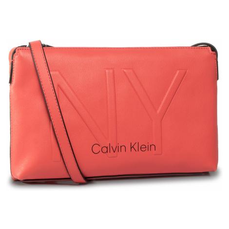 Torebka CALVIN KLEIN - Ny Shaped Ew Crossbody K60K606493 RED