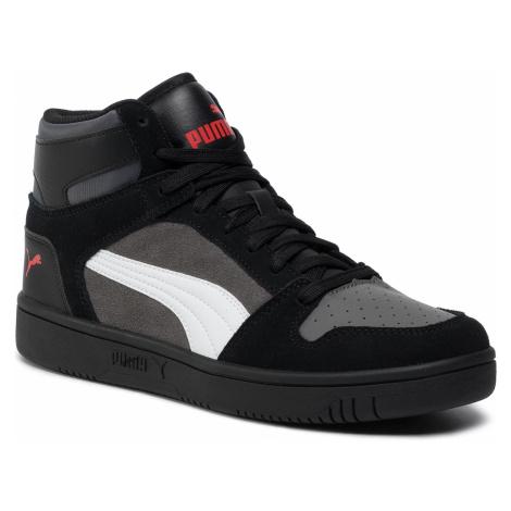 Sneakersy PUMA - Rebound Layup Sd 370219 02 Blk/Castlerock/Wht/Hrisk Red