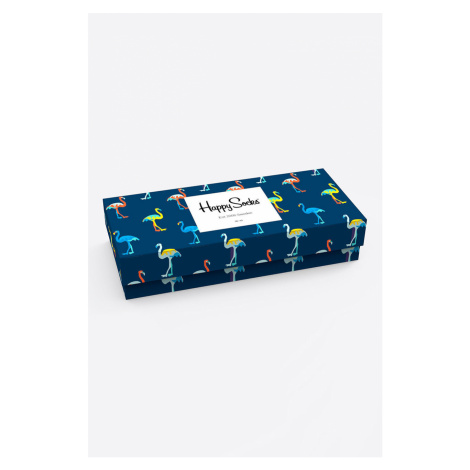 Happy Socks - Skarpetki Navy Gift Box (4 pack)