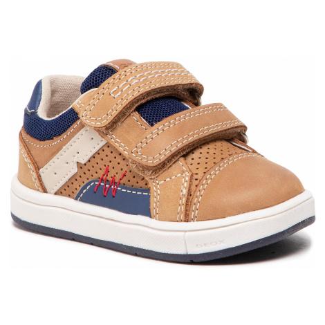 Sneakersy GEOX - B Trottola B. A B1543A 0CL14 C5GF4 M Caramel/Navy