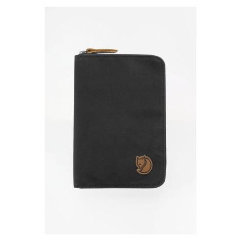 Portfel Fjallraven Passport Wallet 30 Dark Grey Fjällräven