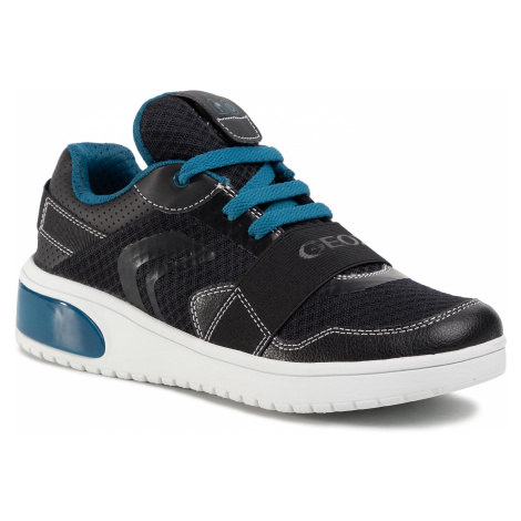 Sneakersy GEOX - J Xled B. B J927QB 01454 C9269 S Black/Petrol
