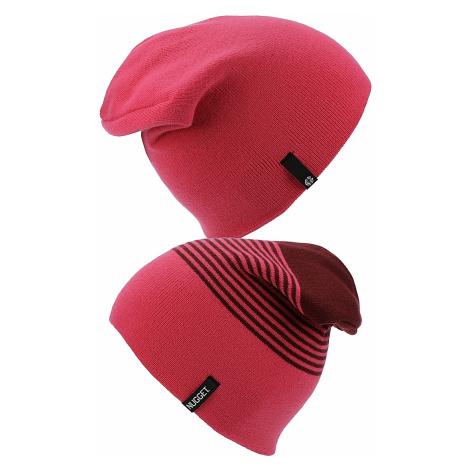 czapka Nugget Token 2 - D/Burgundy/Magenta