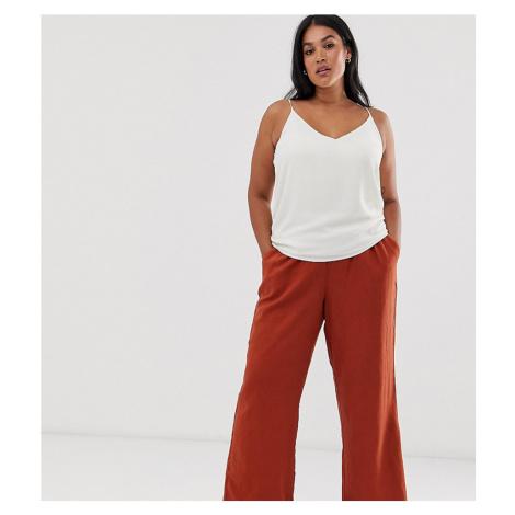 Junarose linen wide leg trousers