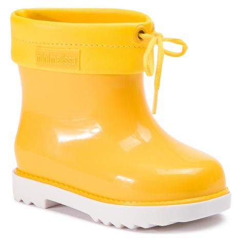 Kalosze MELISSA - Mini Melissa Rain Boot Bb 32424 White/Yellow 52010