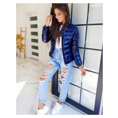 Women's classic jacket MEX navy blue TY1335 DStreet