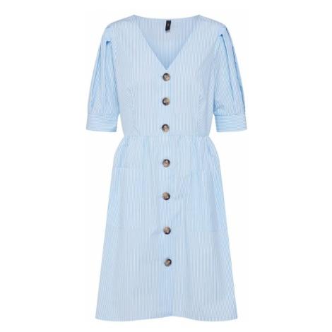 Y.A.S Sukienka 'VILDA' jasnoniebieski / biały