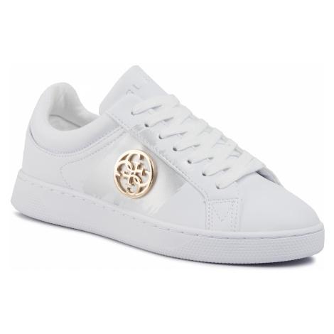 Sneakersy GUESS - Reima FL5REI ELE12 WHITE/GOLD