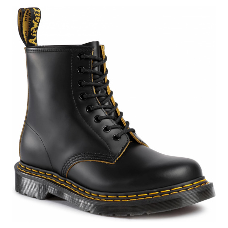 Glany DR. MARTENS - 1460 Ds 26100032 Black/Yellow Dr Martens