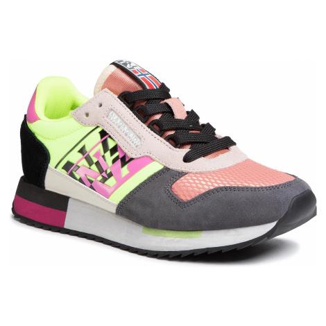 Sneakersy NAPAPIJRI - Vicky NP0A4ET20 Coral/Yel/Black 02E