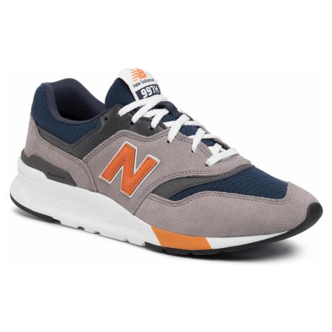 Sneakersy NEW BALANCE - CM997HEX Kolorowy Szary